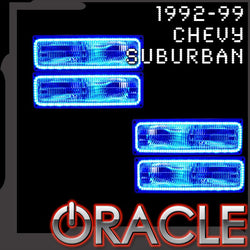 1992-1999 Chevrolet Suburban ORACLE LED Dual Halo Kit