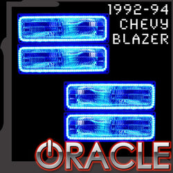 1992-1994 Chevrolet Blazer ORACLE LED Dual Halo Kit