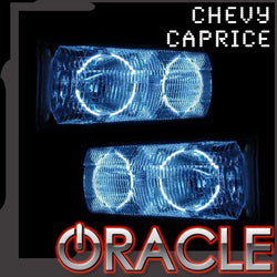 1991-1996 Chevy Impala ORACLE Halo Kit