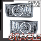 2007-2015 Chevy Silverado Pre-Assembled Fog Lights - Round Style