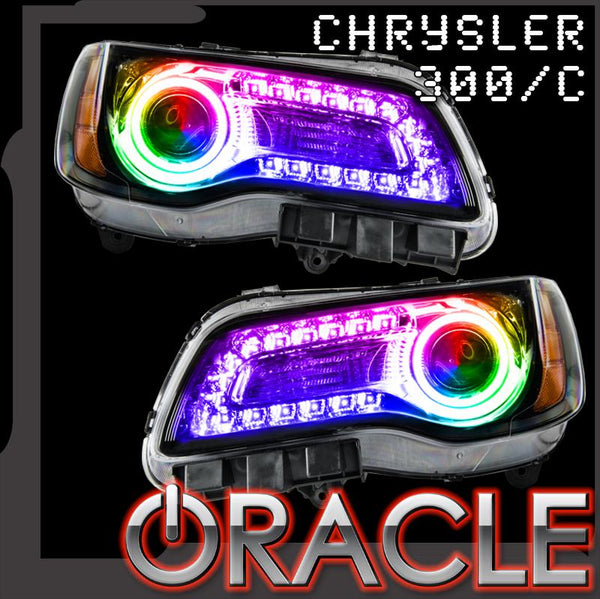 ORACLE Lighting 2011-2019 Chrysler 300C ColorSHIFT® DRL Upgrade w/Halo Kit