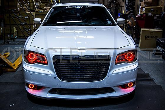 2011 300c  Srt8 Oracle Led Projector Fog