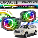 2007-2009 Chrysler Aspen ORACLE Dynamic ColorSHIFT Headlight Halo Kit