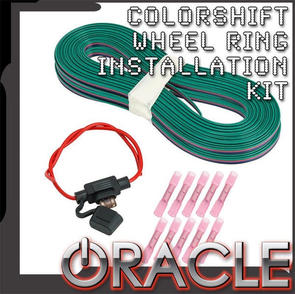 ORACLE ColorSHIFT Wheel Ring Installation Kit