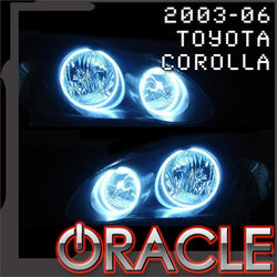 2003-2006 Toyota Corolla ORACLE Halo Kit