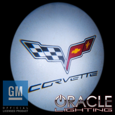 Corvette ORACLE GOBO LED Door Light Projector
