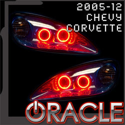 2005-2013 Chevrolet C6 Corvette ORACLE Headlight Halo Kit