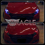 2013-2016 Dodge Dart ORACLE Lighting Headlight Project Halo Kit