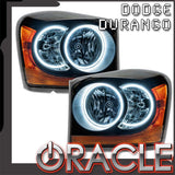 2004-2006 Dodge Durango Pre-Assembled Headlights - Black