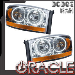2006 Dodge Ram Pre-Assembled Headlights - Chrome
