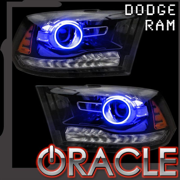 2013-2018 Dodge Ram 1500/2500 Projector Style ORACLE Halo Kit