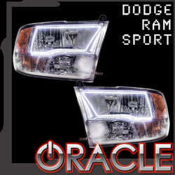 2009-2017 Dodge Ram Sport (Quad) ORACLE Halo Kit