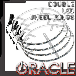 ORACLE LED Illuminated Wheel Rings - Double LED