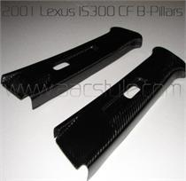 Lexus IS300 Carbon Fiber B-Pillars (Pair)