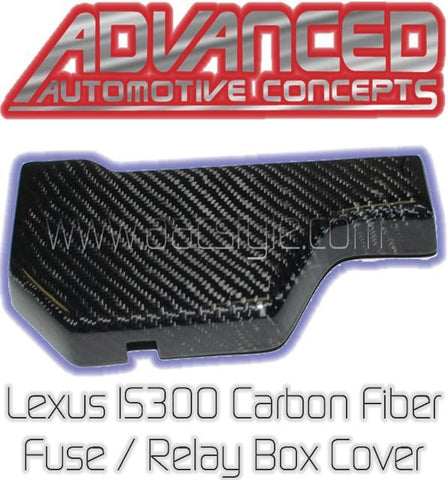 Lexus IS300 Carbon Fiber Fuse/Relay Cover