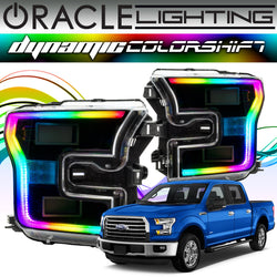 2015-2017 Ford F150 ORACLE Dynamic ColorSHIFT DRL Halo Kit