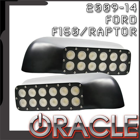 ORACLE 2009-2014 Ford F150/Raptor LED Off-Road Side Mirrors