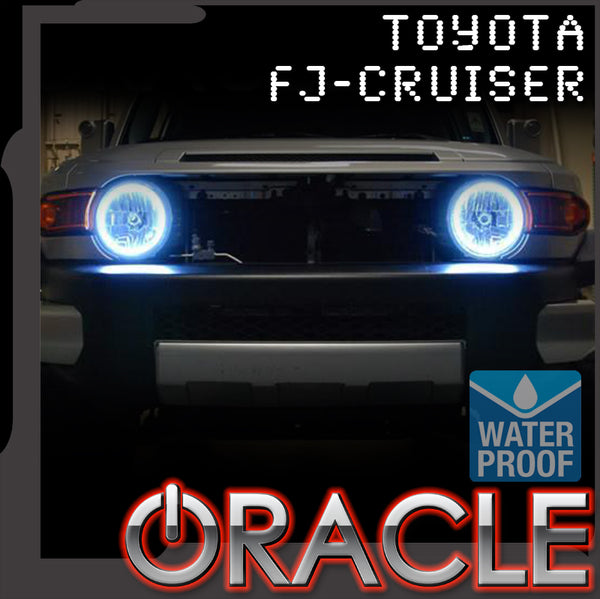 2007-2014 Toyota FJ Cruiser ORACLE LED Headlight Halo Kit-Waterproof