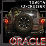 Toyota FJ Cruiser ORACLE Tail Light Halo Kit