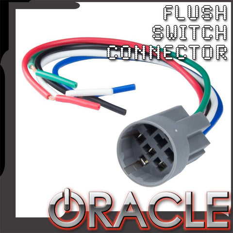 ORACLE Pre-Wired Flush Switch Connector