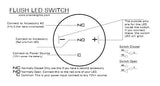 ORACLE Flush LED Momentary Switch