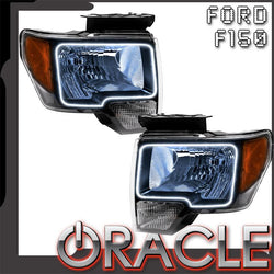 2009-2014 Ford F-150 Pre-Assembled Headlights - Non HID