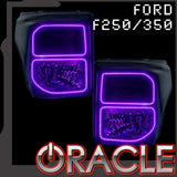 2011-2016 Ford F250/350 SuperDuty ORACLE ColorSHIFT Halo Kit (Square Ring Design)