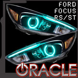 ORACLE Lighting 2015-2017 Ford Focus RS/ST ColorSHIFT® DRL Upgrade w/Halo Kit