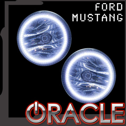 2005-2009 Ford Mustang Shelby/Roush/GT500 ORACLE Fog Halo Kit