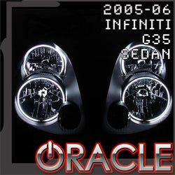 2005-2006 Infiniti G35 Sedan ORACLE Halo Kit