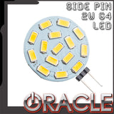 ORACLE Dimable 2W Side Pin G4 LED Replacement Bulb