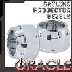 ORACLE Gatling Projector Bezels (Pair)