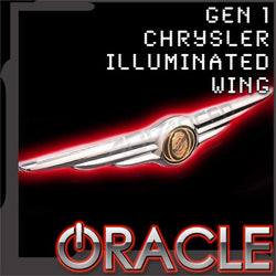 ORACLE Gen I Chrysler Illuminated LED Rear Wing Emblem