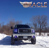 2007-2013 GMC Sierra ORACLE Halo Kit (Square Style)