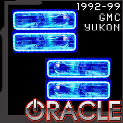 1992-1999 GMC Yukon ORACLE LED Dual Halo Kit