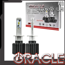 ORACLE H1 4,000+ Lumen LED Headlight Bulbs (Pair)
