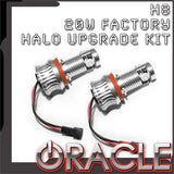 ORACLE BMW 20W Cree H8 Factory Halo Upgrade Kit