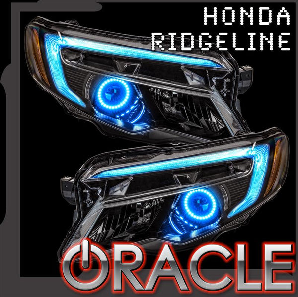 ORACLE Lighting 2016-2018 Honda Ridgeline ColorSHIFT® DRL Upgrade w/Halo Kit