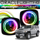 2003-2010 Hummer H2 ORACLE Dynamic ColorSHIFT Headlight Halo Kit