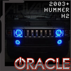 2003-2010 Hummer H2 ORACLE Headlight Halo Kit