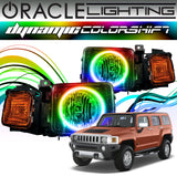 2005-2010 Hummer H3 ORACLE Dynamic ColorSHIFT Headlight Halo Kit