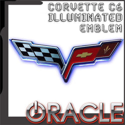 2005-2013 Chevrolet C6 Corvette Illuminated Emblem