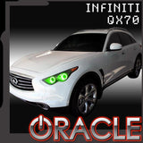 2009-2015 Infiniti QX70 ORACLE Halo Kit