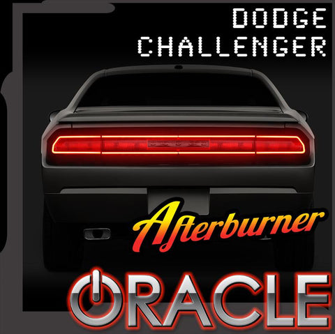 Dodge Challenger 2008-2014 ORACLE LED Waterproof Afterburner Kit Center Section