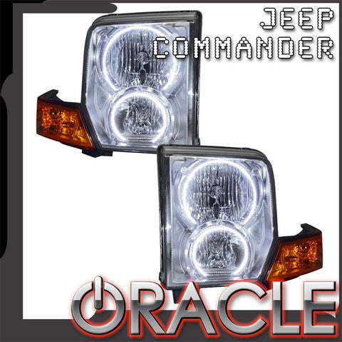 2006-2010 Jeep Commander Pre-Assembled Headlights