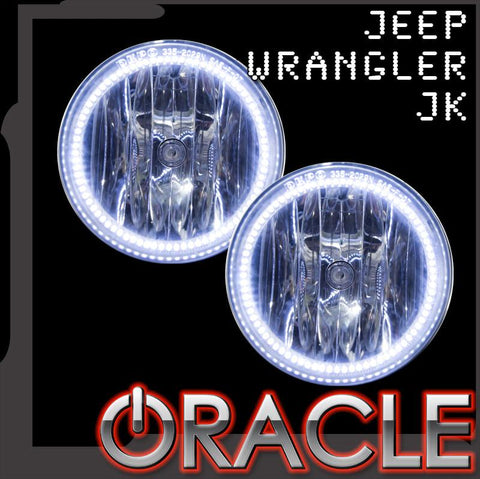 2007-2017 Jeep Wrangler JK ORACLE Fog Light Halo Kit