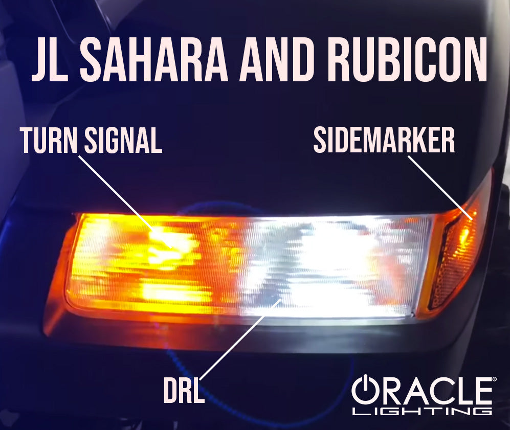ORACLE 2020 Jeep Gladiator Sahara & Rubicon Front Turn ...