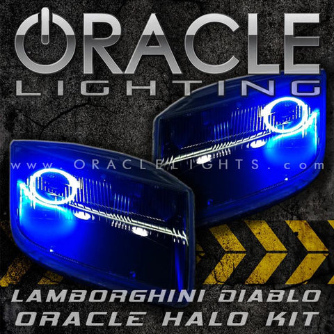 Lamborghini Diablo ORACLE SMD Headlight Halo Kit
