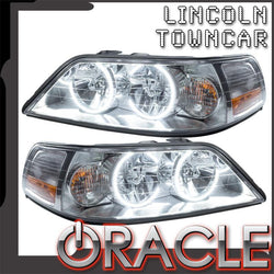 2005-2011 Lincoln Towncar Pre-Assembled Headlights