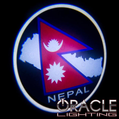 Nepal ORACLE GOBO LED Door Light Projector